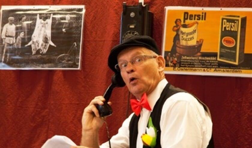 Verhalenverteller Frans van de Pas.