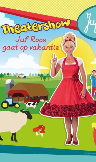 Juf Roos gaat op vakantie, ook in Schouwburg Venray.