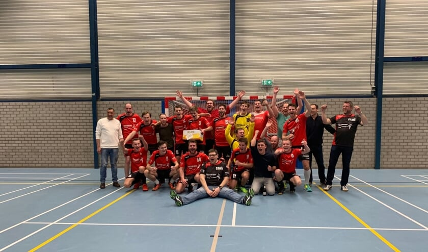 De handballers van kampioen Manual zijn genomineerd voor de titel Sportploeg van het jaar.