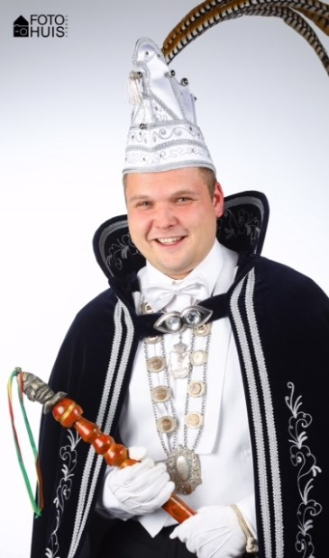Prins Eddie I van  de Schânseknuppels uit Castenray.