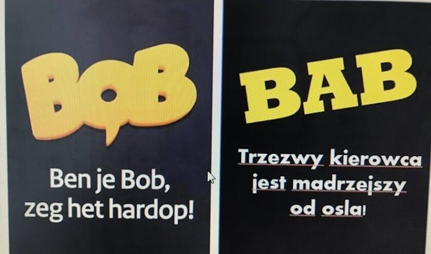 De vertaling van BOB naar BAB.