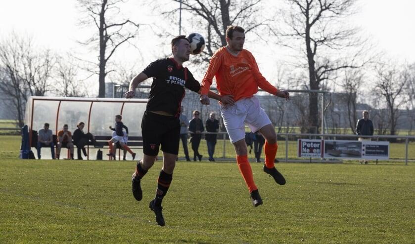 Leunen was zondagmiddag te sterk voor Sporting ST: 3-0. Foto: Jolijn van Goch