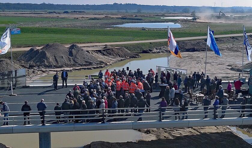 De opening van de Kweibrug. Foto: Wim Wijnhoven.