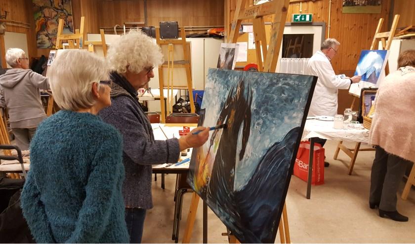 Leden van  Kunstkring Amber Venray exposeren van 3 tot en met 5 mei in 't Stekske.