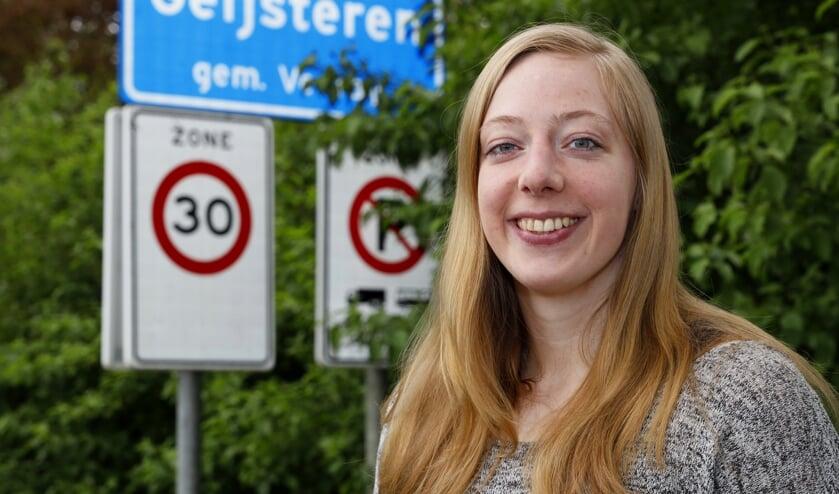 <p>Harma van Kreij is apetrots op haar uitverkiezing voor de nationale ploeg.</p>