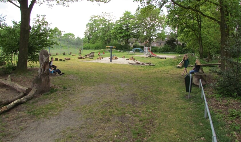 Het speelveld aan de Boudewijnhof/Alexanderhof in Venray.