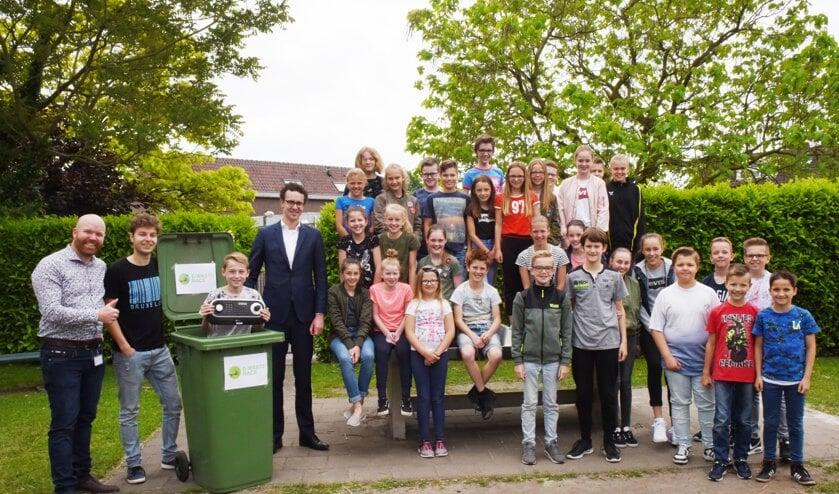 Tienbasisscholen uit de gemeenten Peel en Maas, Horst aan de Maas en Venray strijden tegen elkaar tijdens de E-waste Race.