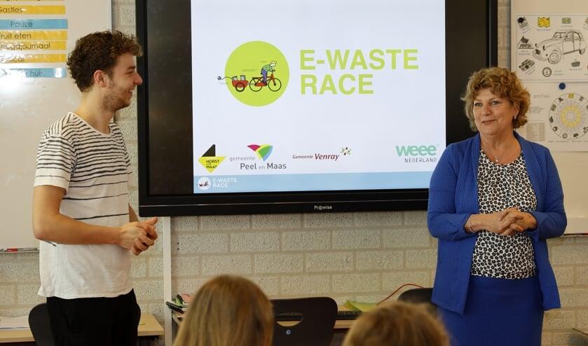 <p>Coninxhof en De Klimboom uit Venray en St. Oda uit Ysselsteyn doen mee aan de E-waste Race. </p>