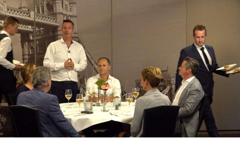 Rob van Lieshout presenteert het programma Venray in bedrijf.