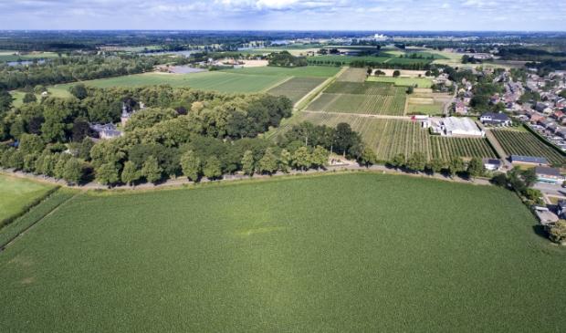 <p>Groene rivier Well</p>