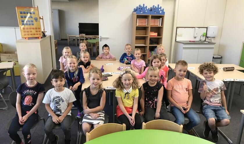 Eerste schooldag na de zomervakantie, ook voor groep 3 van basisschool EigenWijs.
