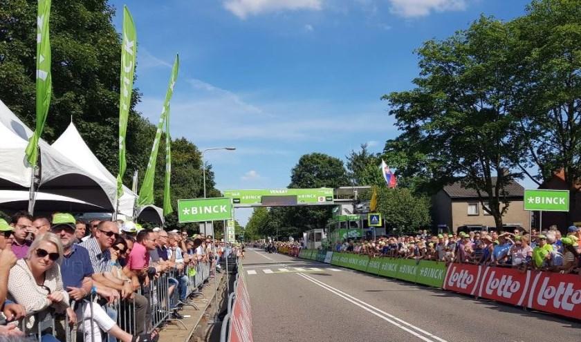 Venray is vrijdag de finishplaats van de vijfde etappe van de BinckBank Tour.