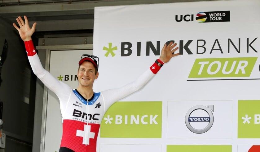 Stefan Küng won vorig seizoen de tijdrit in en rond Venray.