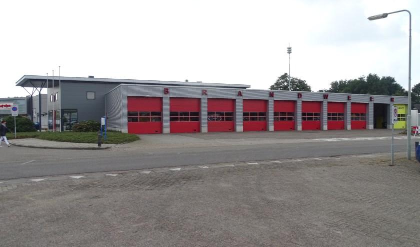 De brandweerkazerne in Venray.