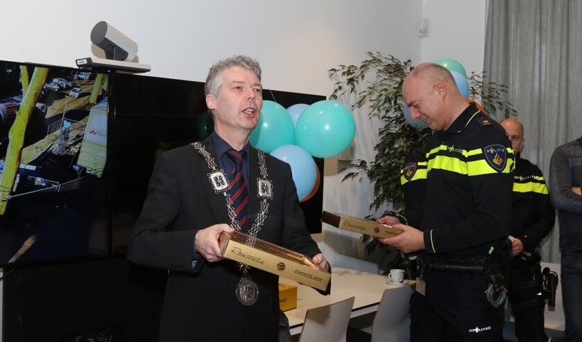 """Burgemeester Hans Gilissen: """"Burgers zijn de oren en ogen van de politie."""""""