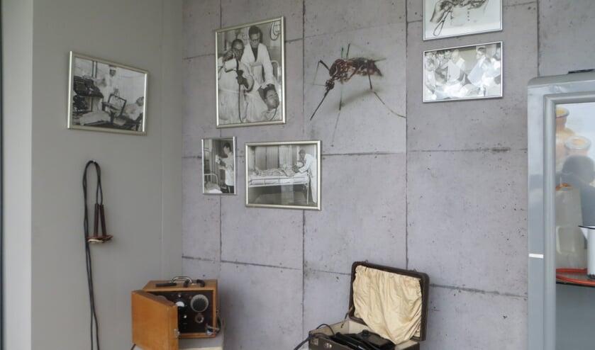 Behandelmethoden uit vroeger tijden in Museum Psychiatrie Venray.