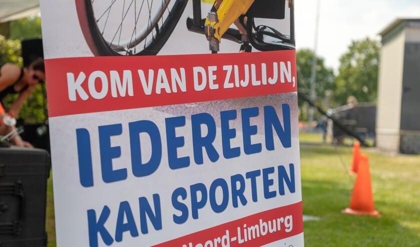 De X-triathlon voor mensen met een beperking vindt plaats op zondag 17 mei in Venray.