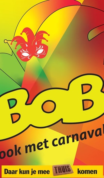 Maandag 27 januari start de CarnavalsBob-campagne in Limburg