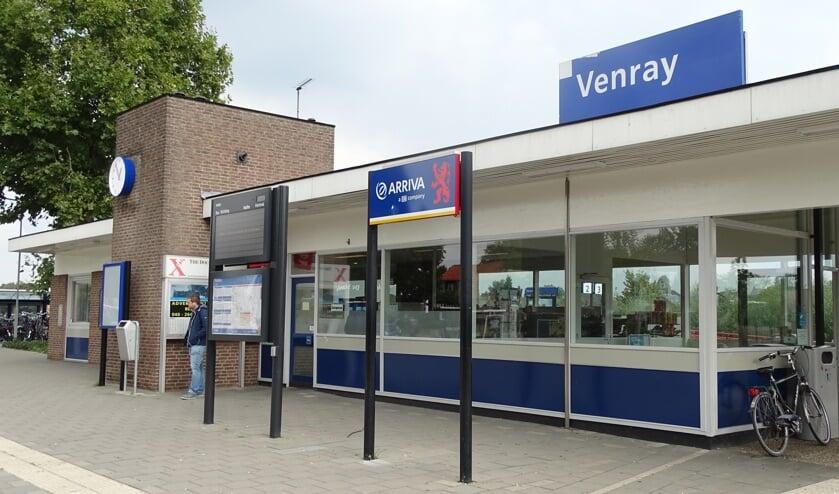 Het station in Oostrum.
