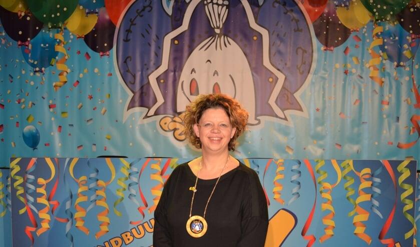 Diana Janssen heeft het Miniplekske van De Wiendbuul ontvangen.