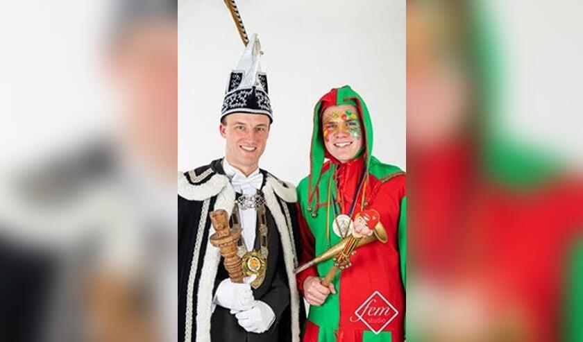 <p>Vorig jaar zwaaide prins Wim II de scepter in Merselo.</p>