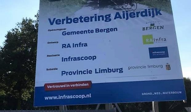 Binnenkort starten de werkzaamheden aan de Aijerdijk