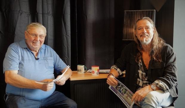 Toon en Fred bespreken de week bij Servicepunt Maasduinen