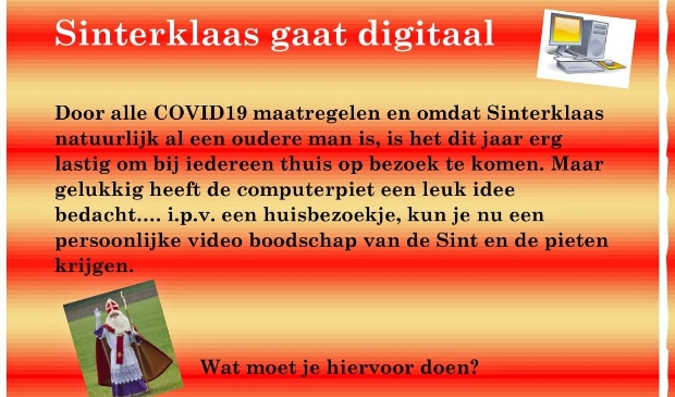 Digitale Sint en Piet