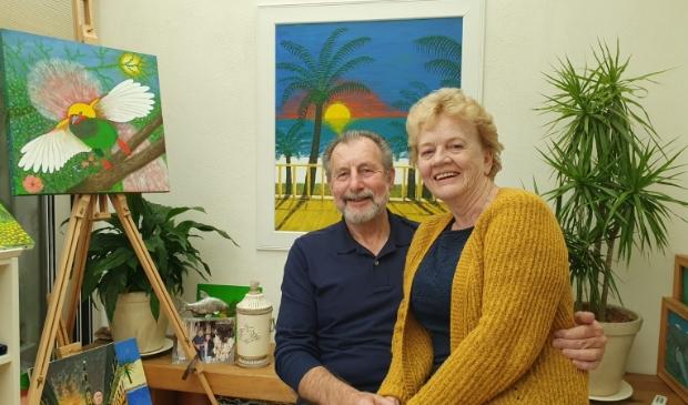 Mat en Yvonne Wijers pas 50 jaar getrouwd.