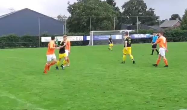 Voor Montagnards duurde de wedstrijd vijf minuten te lang