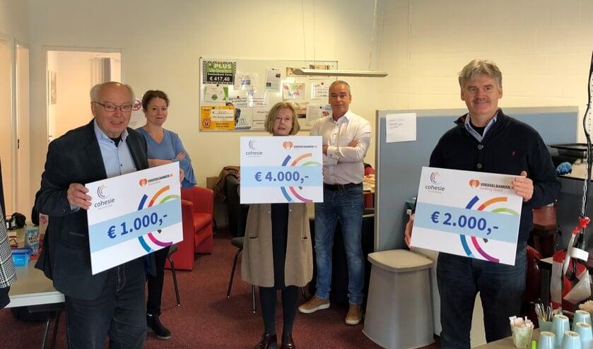 <p>Donatie huisartsen aan voedselbanken in Noord-Limburg.&nbsp;</p>