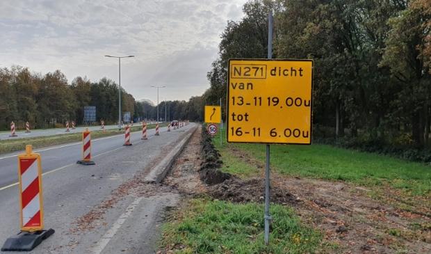 Werkzaamheden N271 Heijen