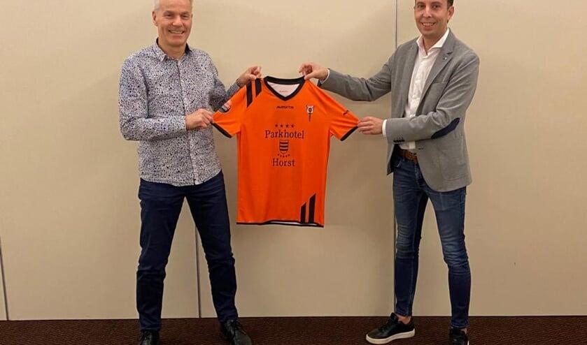 <p>Sjoerd van der Coelen (rechts) wordt de nieuwe hoofdtrainer van Wittenhorst.&nbsp;</p>