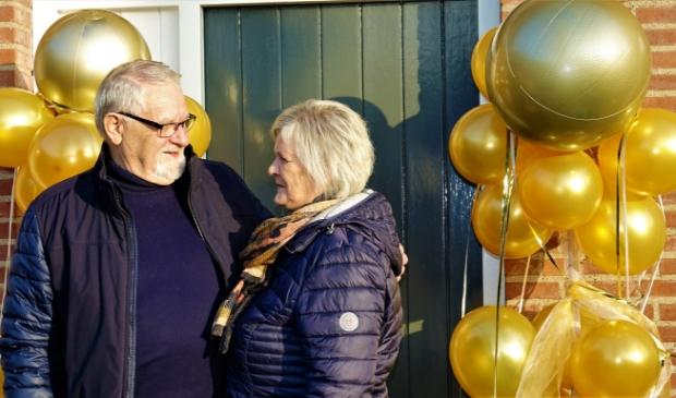 Sraar en Mien Smits 50 jaar getrouwd