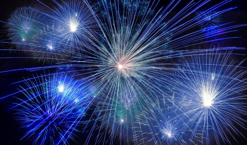 <p>Vuurwerk was dit jaar verboden tijdens de jaarwisseling.&nbsp;</p>