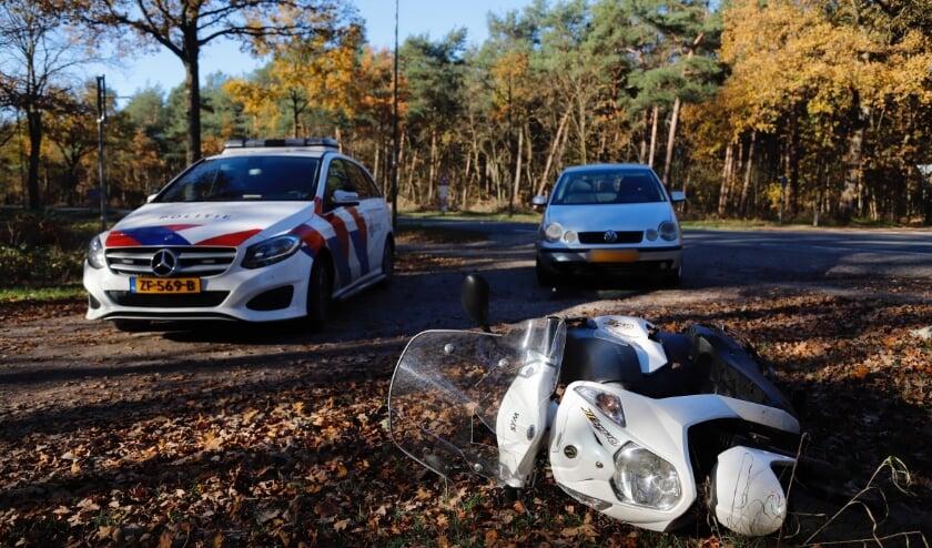 <p>Scooterrijder gewond bij ongeval op Maasheseweg</p>