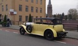 Historische Spyker-rit trekt door de regio