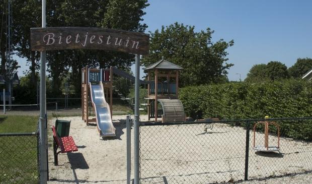 De Bietjestuin werd in 2006 geopend maar moet jammer genoeg verdwijnen