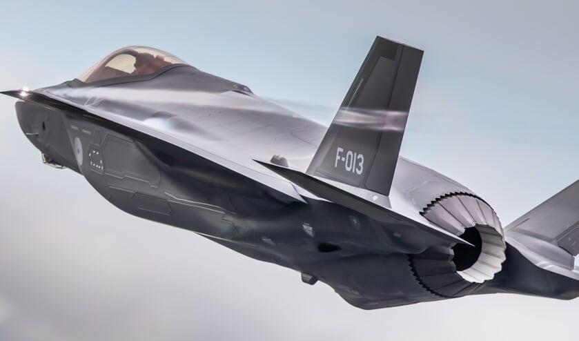 <p>F-35 oefent twee weken op vliegbasis Volkel.&nbsp;</p>
