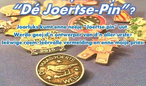 Het speldje van de Maasjoerts heet De Joertse-Pin