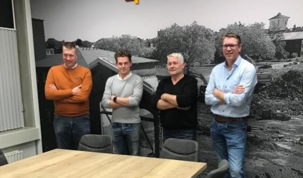 Wiljan Laarakkers, Boyk Martens, Wim Martens, Marcel Laarakkers