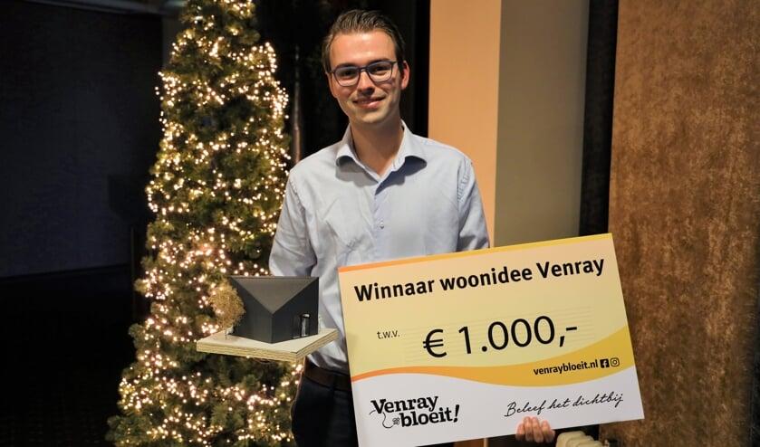 <p>Rick Abelen, winnaar van Woonidee Venray. </p>
