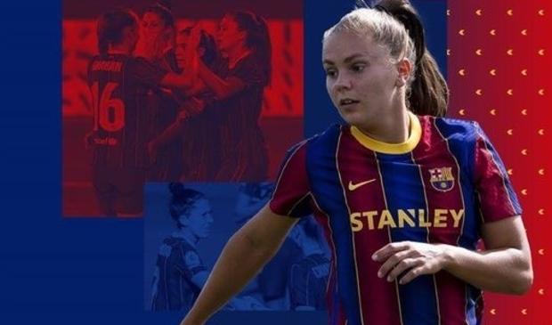 <p>Lieke Martens een vaste waarde voor FC Barcelona Femen&iacute;</p>