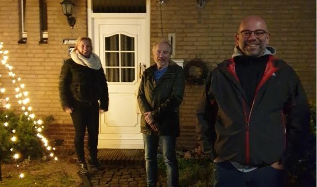 Buurtvereniging Het Schildernest in de avonduren op pad