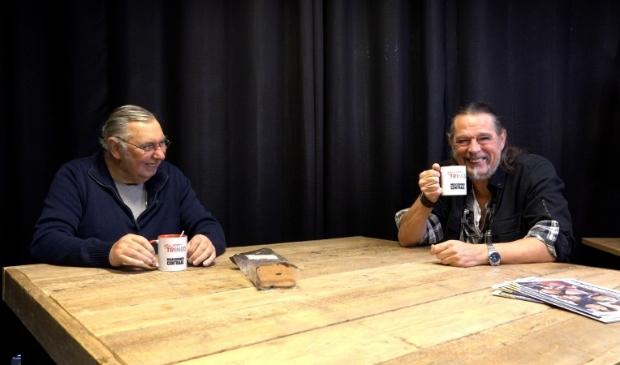 Kopje koffie erbij en lekker lachen met Toon & Fred