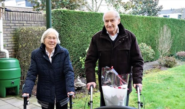 <p>Briljanten paar Piet en Maria Hesen-Schoofs</p>