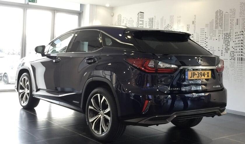 Een Lexus RX 450 H is afgelopen nacht gestolen.