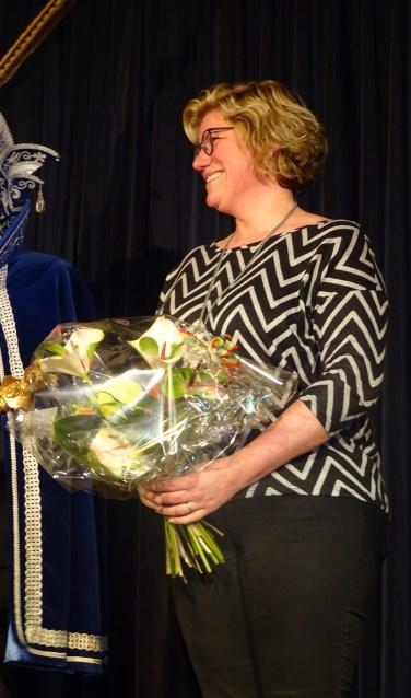 Heidi Disveld- de Mulder is onderscheiden met de Meerlose Zilvervos.