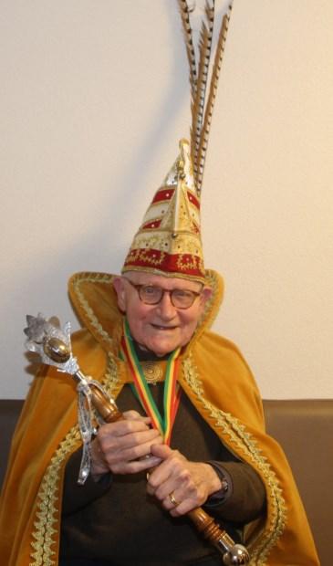 Prins Tjeu Aarts van Zorghuis Smakt .