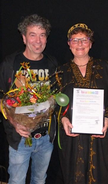 Sonja Huijs-Verberkt en haar man Ruud.